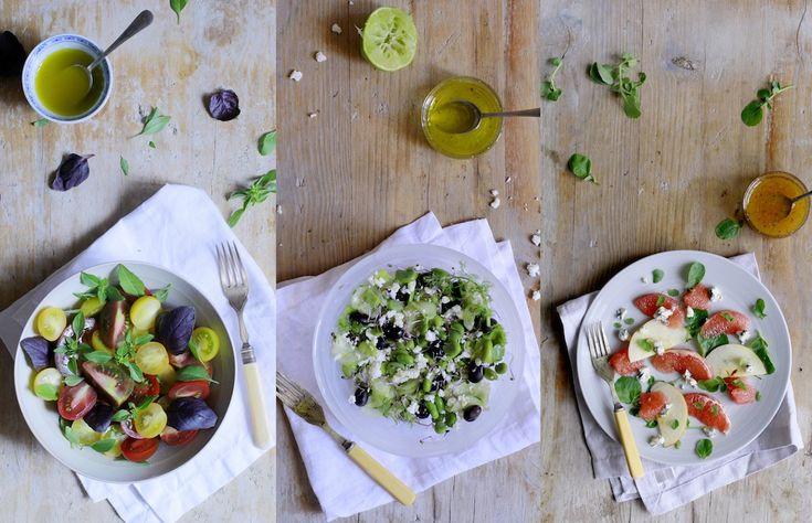 3 Ensaladas Rápidas y Deliciosas Que Tienes que Probar