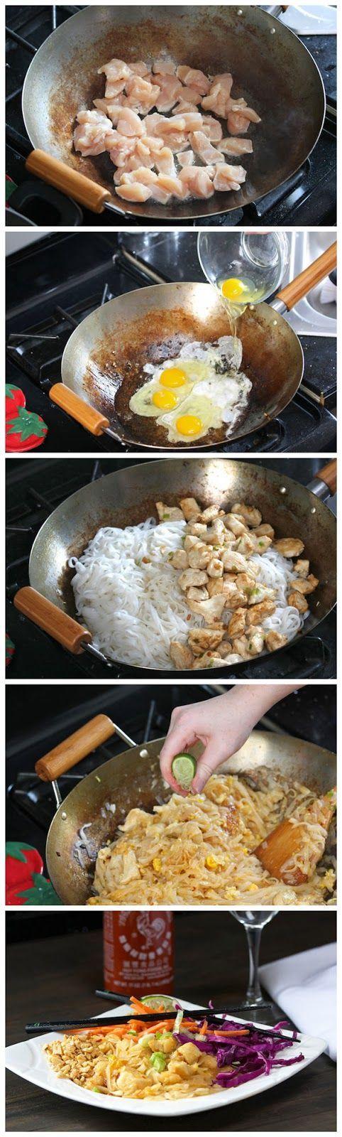 Red Star Recipe: Chicken Pad Thai