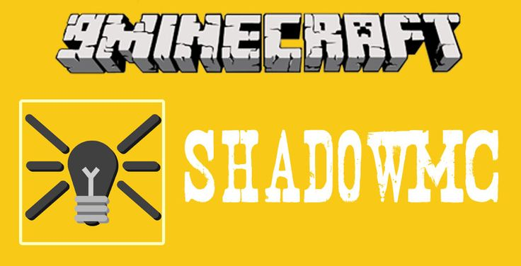 ShadowMC for Minecraft 1.12 - minecraft mods 1.12 : Download and install Minecraft Forge. Download the mod. Click on the Start Menu  ...   | http://niceminecraft.net/tag/minecraft-1-12-mods/