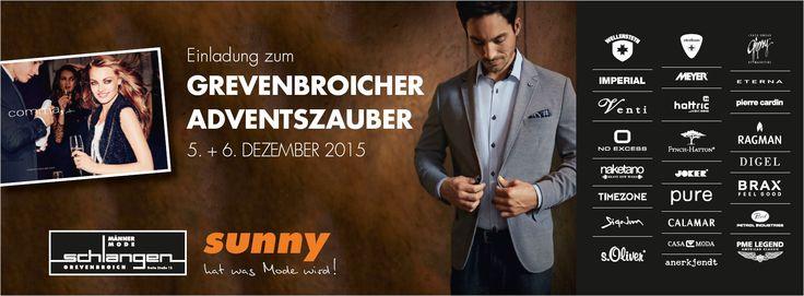 Einladung zum Adventszauber  und verkaufsoffener Sonntag am 6. Dez 2015 | sunny Grevenbroich