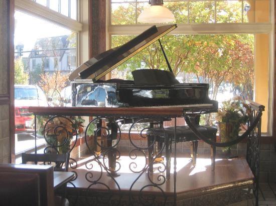 The Baby Grand Piano In McDonalds Biltmore Village Asheville NC