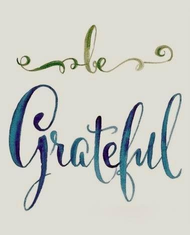 Garden, Home and Party: Gratitude