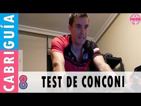 TEST de CONCONI y UMBRAL ANAERÓBICO en CICLISMO | CABRIGUIA 8 - Videos de Ciclismo