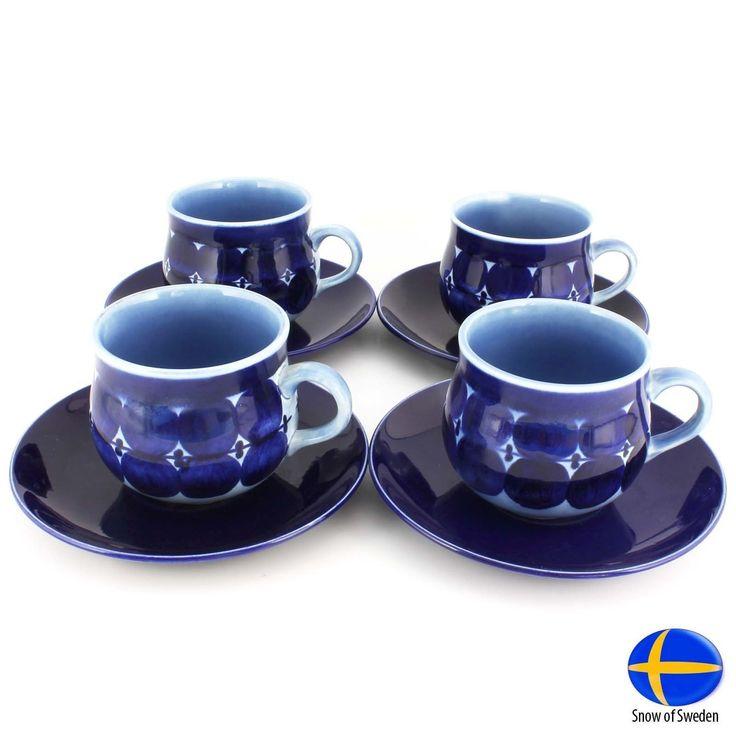 Four Matilda Tea Cups 1962 Original by Lisa Larson Free Insured Shipping | eBay