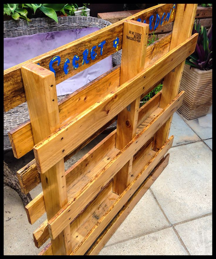 195 best images about children 39 s secret garden ideas on for Recycle pallets as garden planters