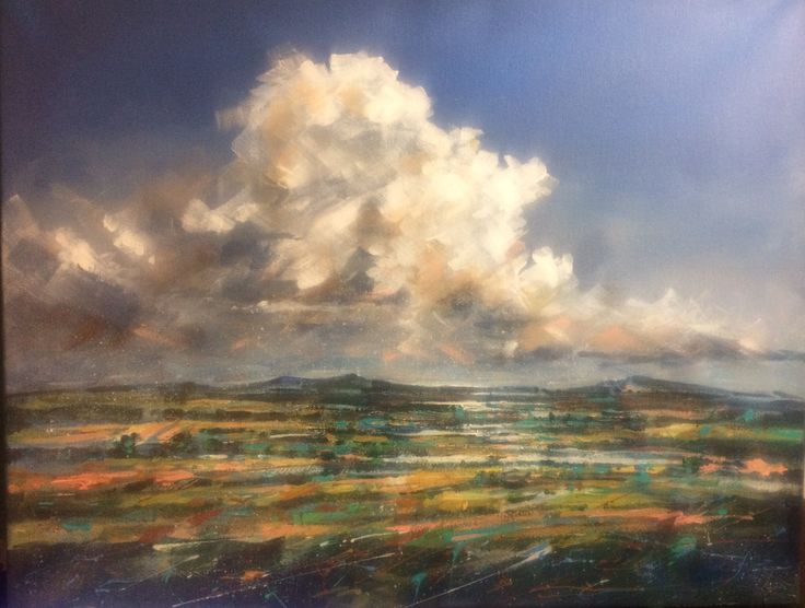Clouds by Jan Smit (acrylic)