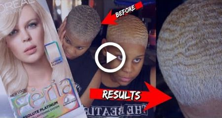 Hair Transformation   Loreal Feria Absolute Platinum + My Secret To My Waves GUARANTEED