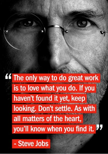A favorite -- Steve Jobs Stanford Graduation Speech 2005#Repin By:Pinterest++ for iPad#