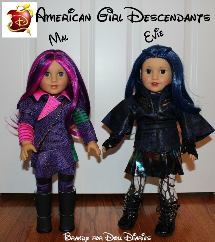 american girl descendants dolls