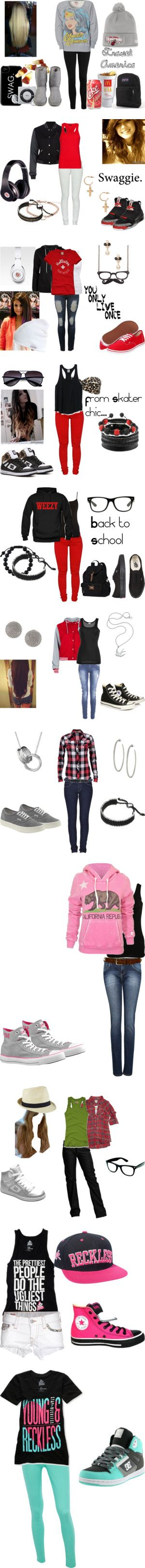 """""""Swagged Out(:"""" by kaylee-kimberlin on Polyvore"""