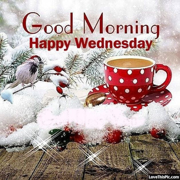 Wednesday Morning Coffee With Images Good Morning Christmas