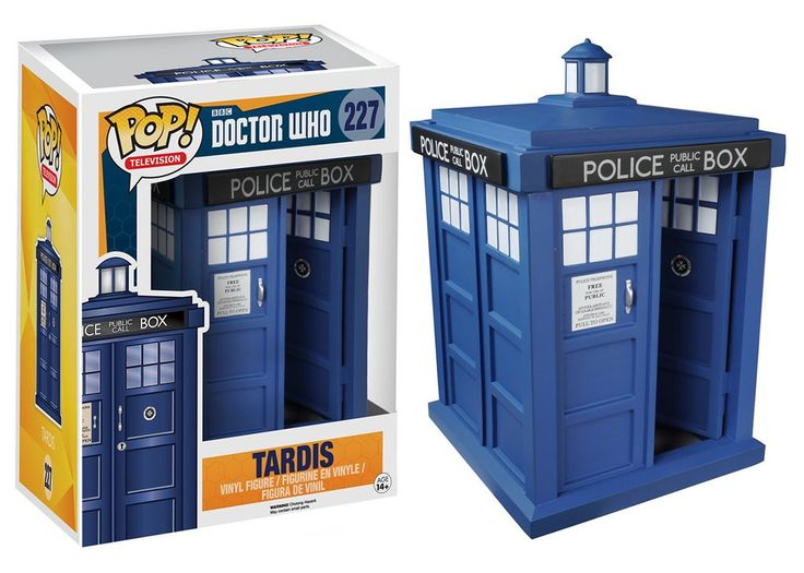 "Pop! TV: Doctor Who - 6"" TARDIS   Funko"