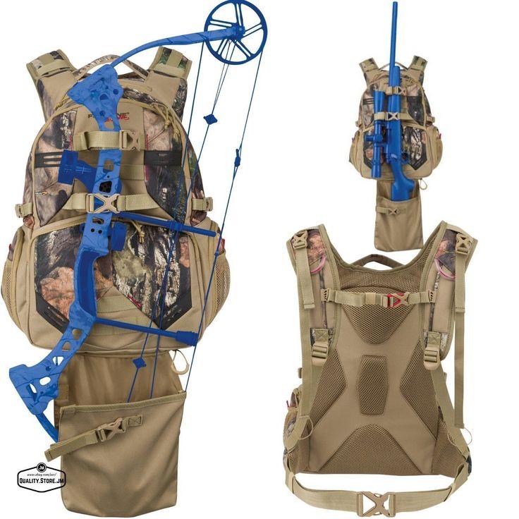 Camo Hunting Backpack Bow Deer Duck For Men Women Archery Hiking Gear Day Pack #deerhuntinggear #archeryhunting #duckhunting #backpackinggearwomens