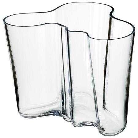 ittala Aalto Vase in Clear. One of my favorite pieces of glass.