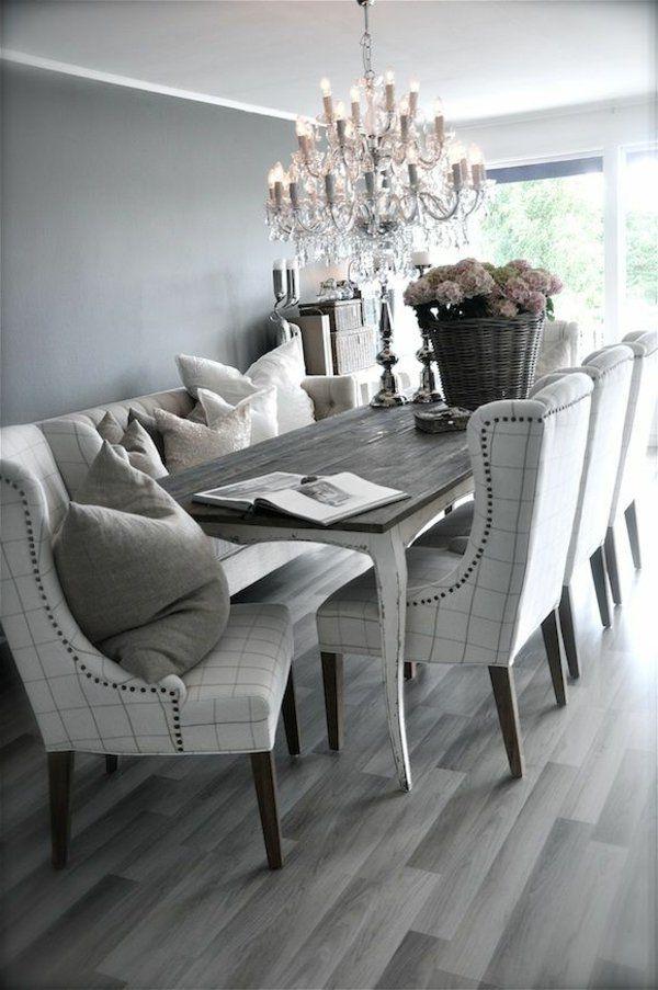 Chaises de salle à manger déco luxueuse