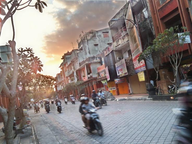 Gajah mada street Bali