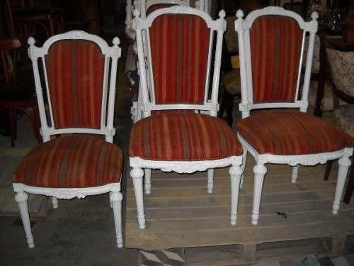 17 mejores ideas sobre juego de sillas de comedor en - Silla estilo luis xvi ...