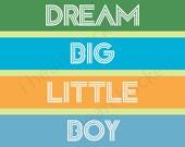 Dream big little boy! :)
