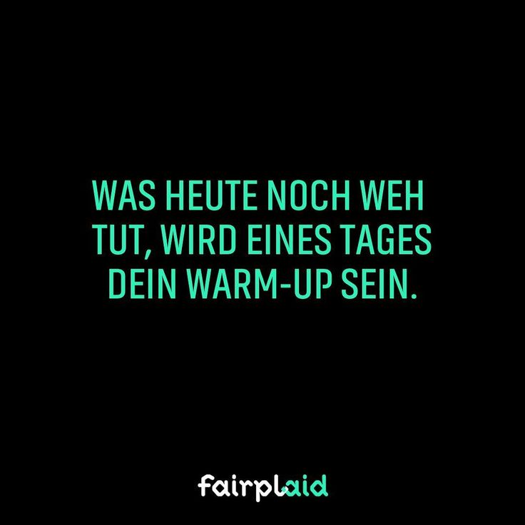Aber hallo.  #sports #motivation #instasports #instamotivation #qotd #quote #fairplaid