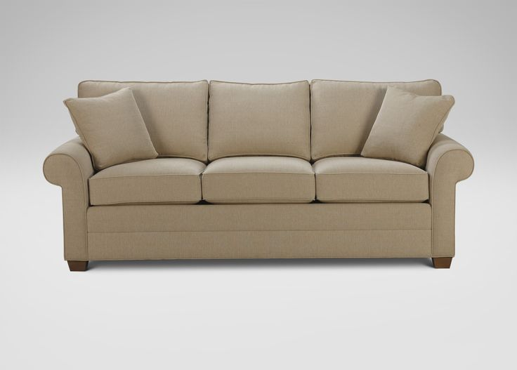 Best Furniture Images On Pinterest Ethan Allen Leather - Conversation sofa ethan allen bennett roll arm