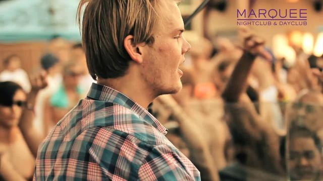 Avicii at Marquee Dayclub in Las Vegas.