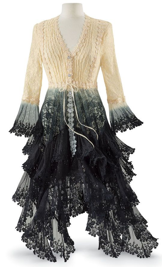 French Dressing PC5-146 Long Lace Jacket                                                                                                                                                                                 More