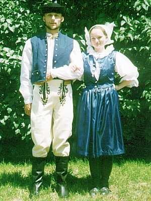 Myjava folk dress