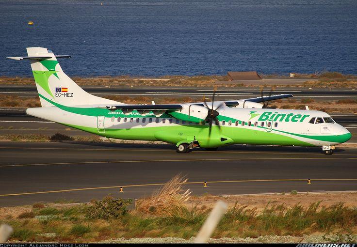 ATR ATR-72-500 (ATR-72-212A) - Binter Canarias   Aviation Photo #1793831   Airliners.net