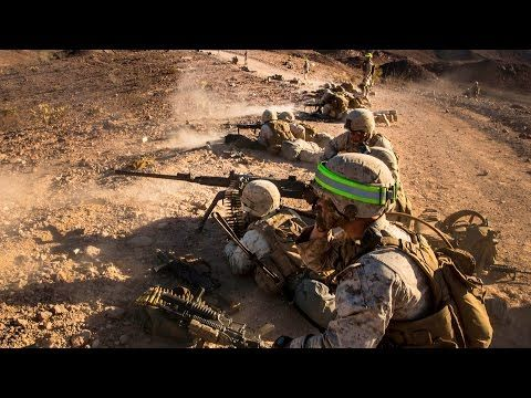 US Marines Heavy Live Fire Raid + Singapore Armed Forces in Action