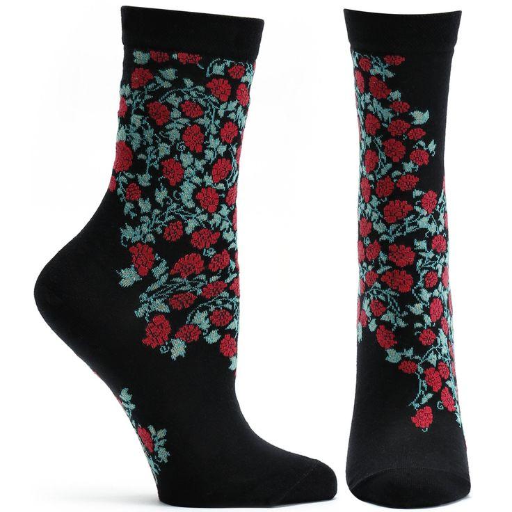 Blooming Filigree Sock