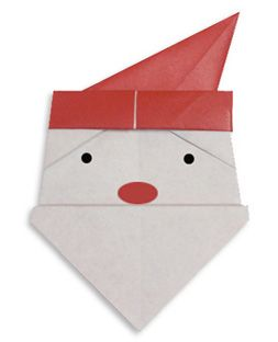 christmas origami! (my dd is GREAT with origami crafts! She will flip over this! ;}