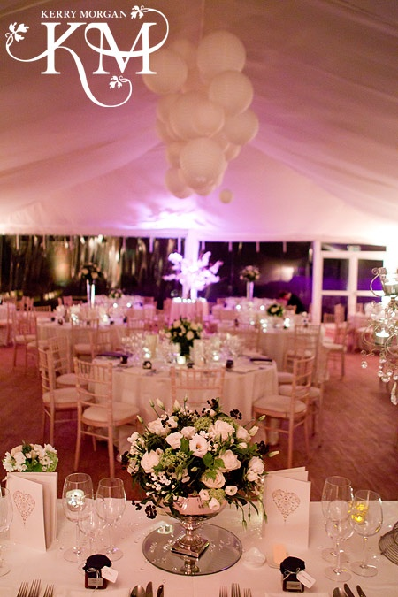 Marquee in Chaplin's Walled Garden at Fulham Palace - By Kerry Morgan