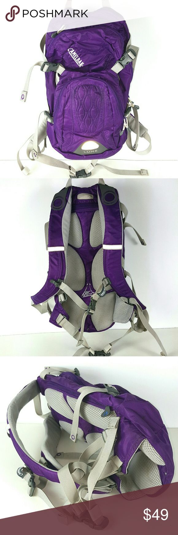 Camelbak Luxe Hydration backpack,  No Blader This backpack is in clean and excellent condition with  few hardly noticeable stains to remove....it has no liquid blader, but You can simply insert Yours as needed. Camelbak  Bags Backpacks