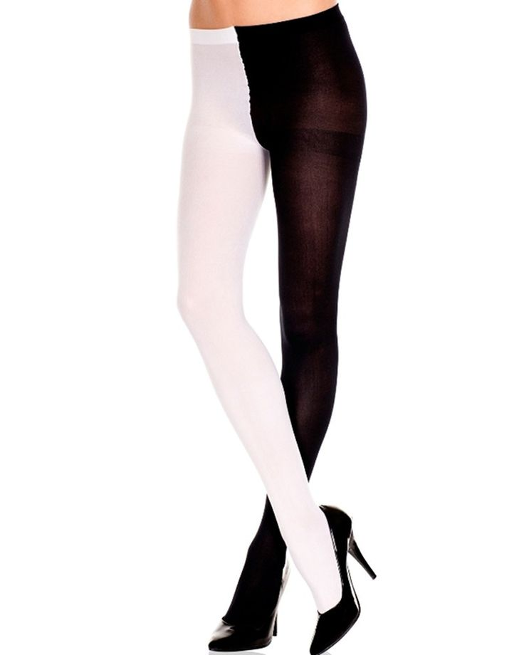 Music Legs   Opaque Jester Tights  - Tragic Beautiful buy online from Australia
