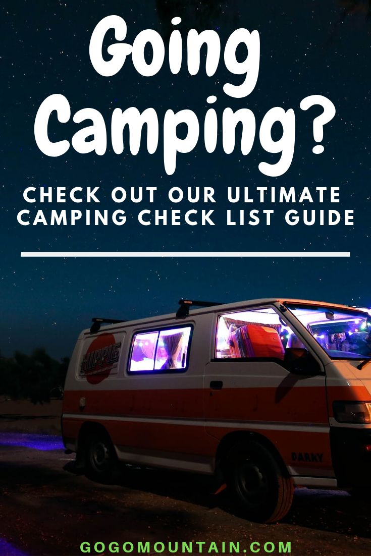 Aller camper? Consultez notre guide ultime de la liste de contrôle de camping   – Camping ~