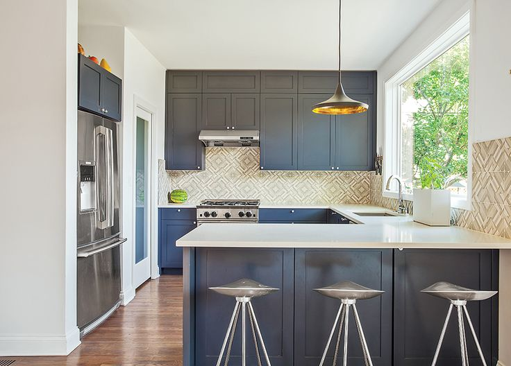 "These kitchens across America showcase the best of modern design. Pick up our <a href=""http://www.dwell.com/magazine/new-american-home-0"">annual issue dedicated to American design</a> for more domestic inspiration."