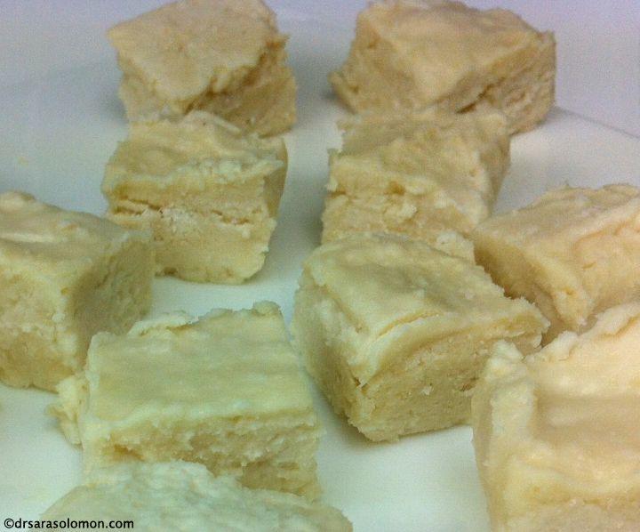 Peanut Butter Cookie Dough FUDGE!