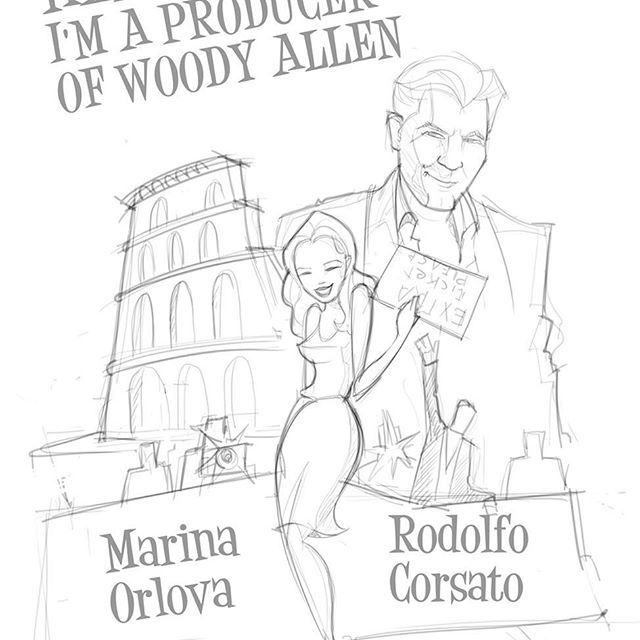 Marina Orlova - Hello! I'm a producer of Woody Allen - Festival de #Cannes with Rodolfo Corsato