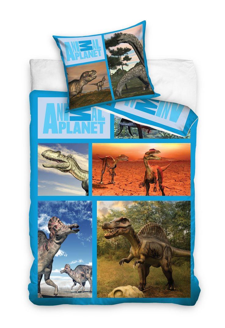 Dětské povlečení s motivem dinosaurů