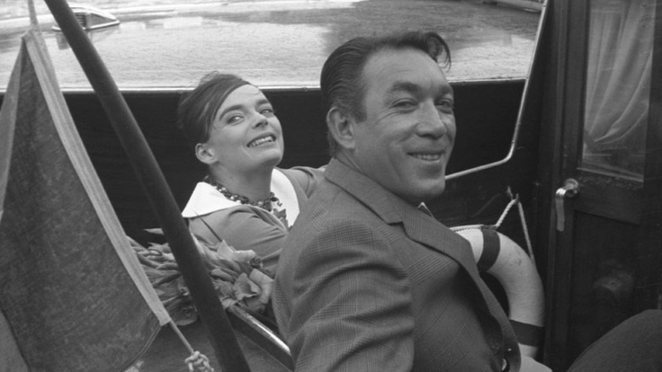 Anthony Quinn and Barbara Steele in Venice, 1958.1959 Venice, Film Festivals, Anthonyquinn, Barbara Steel, Venice Film, Anthony Quinn, Anthony'S Quinn, Dr. Quinn, Icons