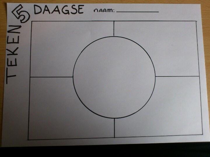Teken5Daagse - Verzin 5 korte teken opdrachten en geef de leerlingen elke dag een moment om hier mee bezig te zijn.