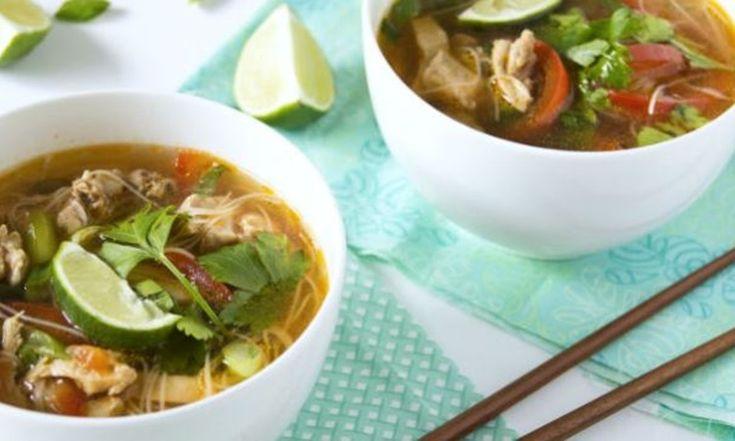 Une soupe thaï ce soir c'est facile à préparer! | Le Poulet du Québec