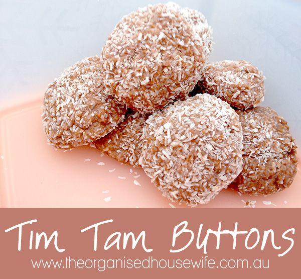Tim Tam Buttons: