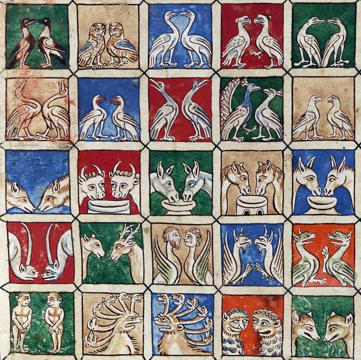 Noah's Ark Beatus of Liébana, Commentaria in Apocalypsin, Spain or France 12th century Manchester, John Rylands University Library, Latin MS 8, fol. 15r