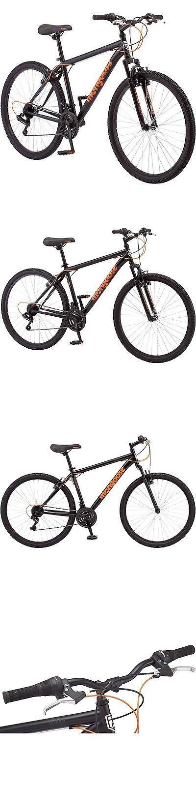 Bicycles 177831: 27.5 Mongoose Excursion Men S Mountain Bike Black Neon Orange -> BUY IT NOW ONLY: $144.25 on eBay!