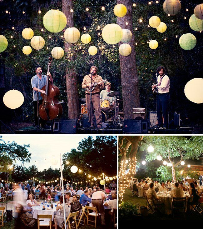 Backyard Wedding Ideas: Perfect Backyard, Theme, Menu and Music- may be worth a look...excatly how i want my wedding...outdoors, simple, and beautiful :)