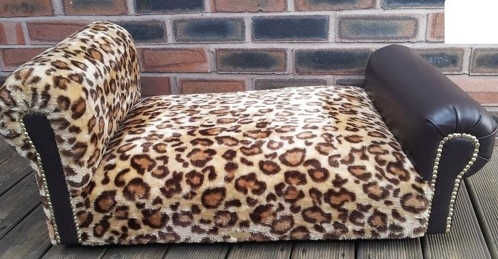 Dogs Divan Bed With Headboard