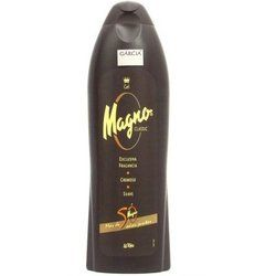 Magno la Toja Classic Shower Gel 600ml gel by Magno by Magno. $14.50. Please read all label information on delivery.. 750 ml gel. Country of origin: Spain. From the island of La Toja off the coast of Spain comes this luxurious yet affordable shower gel inspired by the Mediterranean. The famous Magno creamy black gel is made from lanolin and glycerin and contains salts and minerals (iron, iodine, and sulfur) from the therapeutic hot springs of La Toja in Galicia. ...