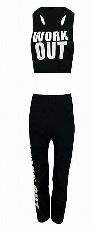 2pcs Ladies Sportswear