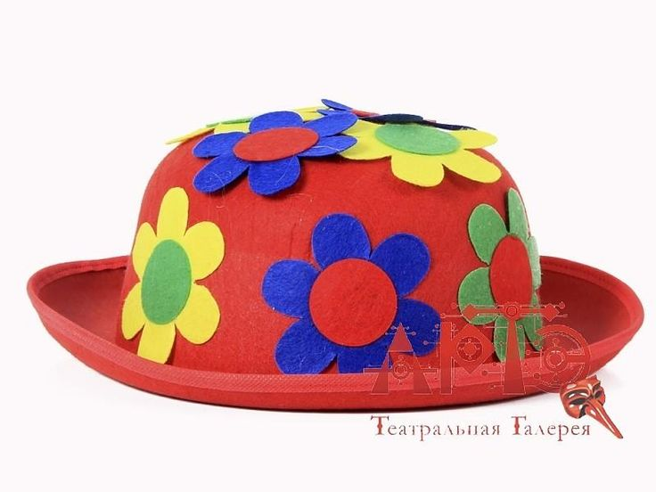 Шляпа с цветами купить